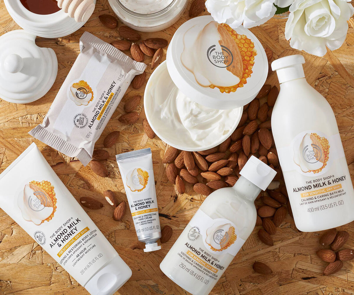 Cofanetto Almond Milk & Honey di The Body Shop
