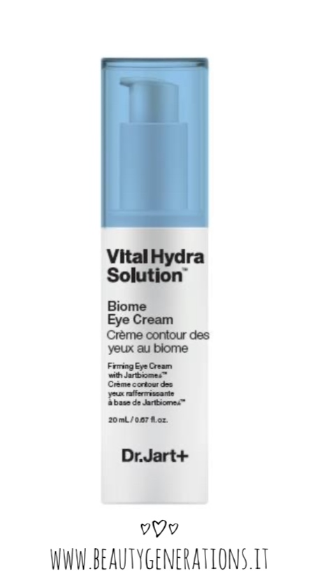 dr.jart vital hydra solution - biome eye cream