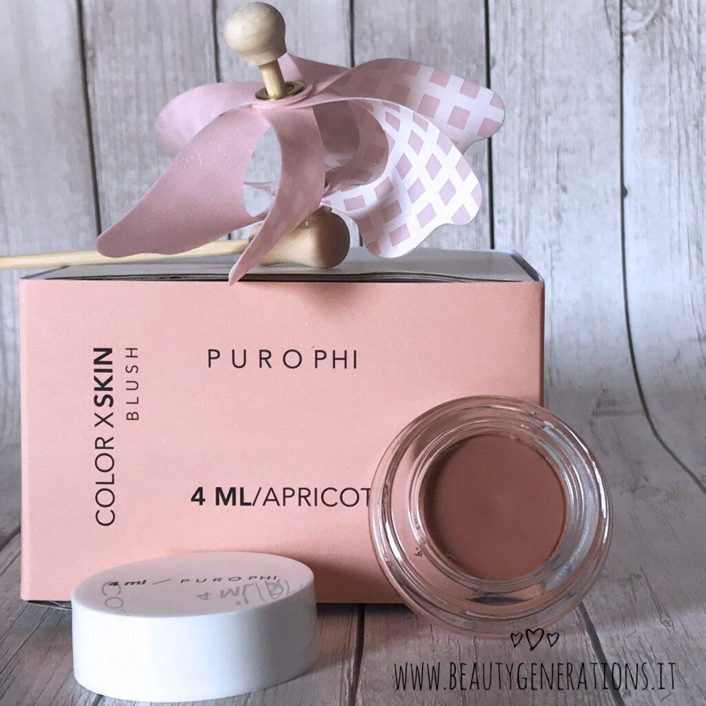 Blush 4ml Purophi Apricot