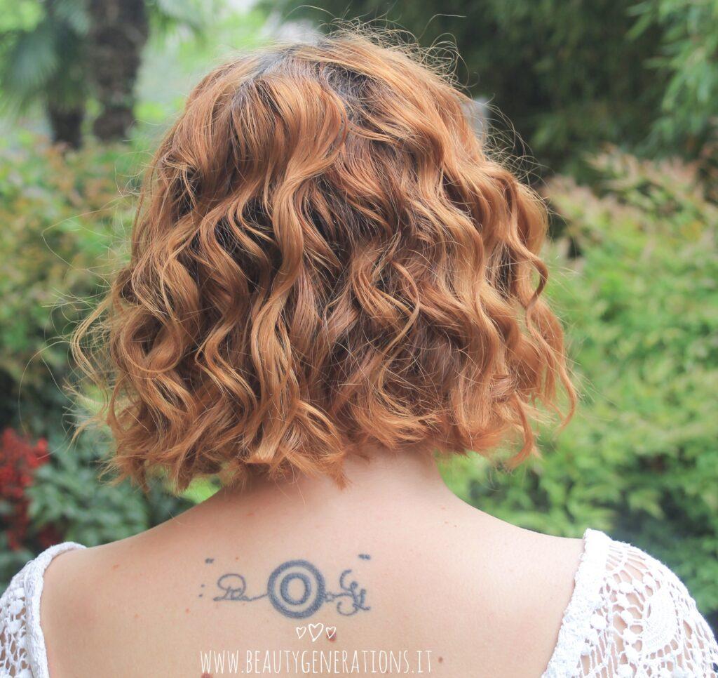 capelli mossi - taglio medio - risultato