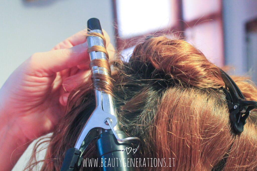 capelli mossi - taglio medio - come fare
