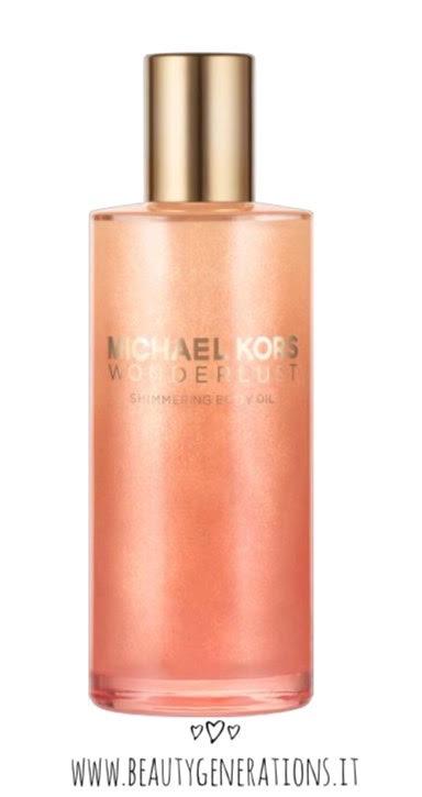 Michel kors - wonderlust shimmering body oil