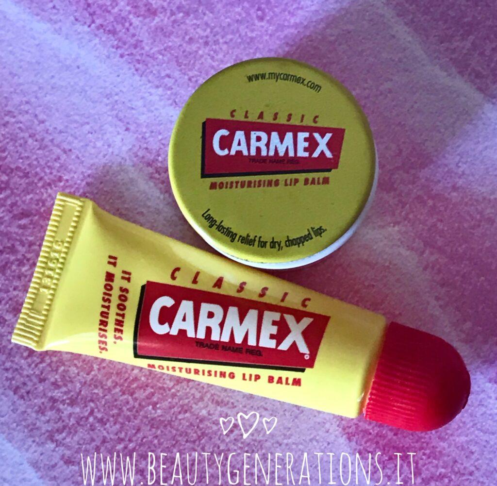 Lip balm Carmex per labbra secche