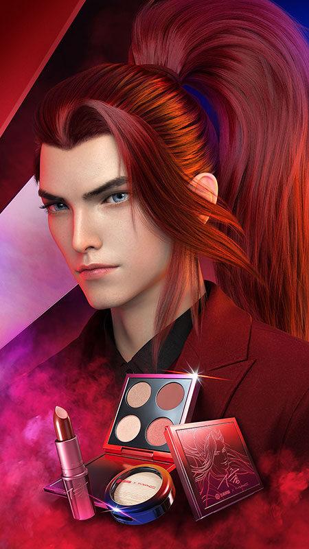 Mac Cosmetics Honor of kings Xin