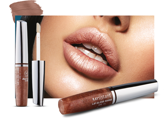 Australian Gold lip gloss shine