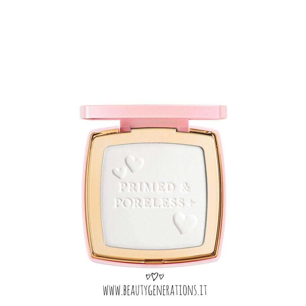 Primed and Poreless - Too Faced