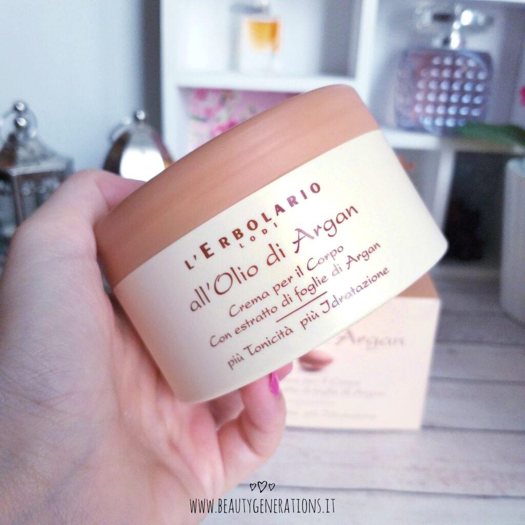 Crema corpo all'olio di argan Erbolario