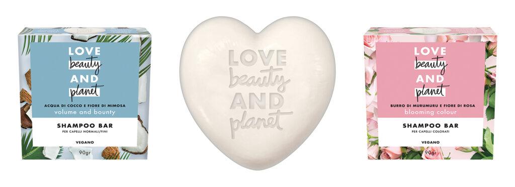 Shampoo solido Love beauty and planet shampoo bar