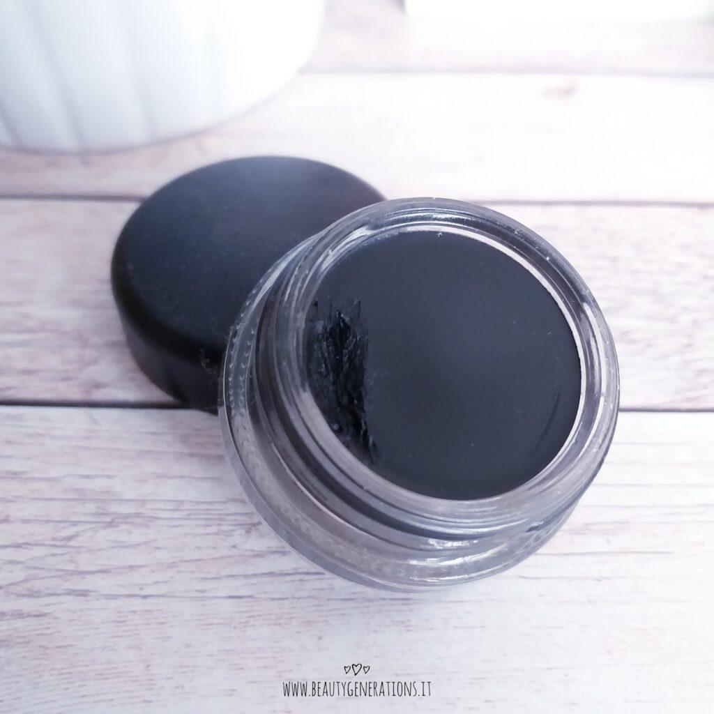 eyeliner in gel Mac black black