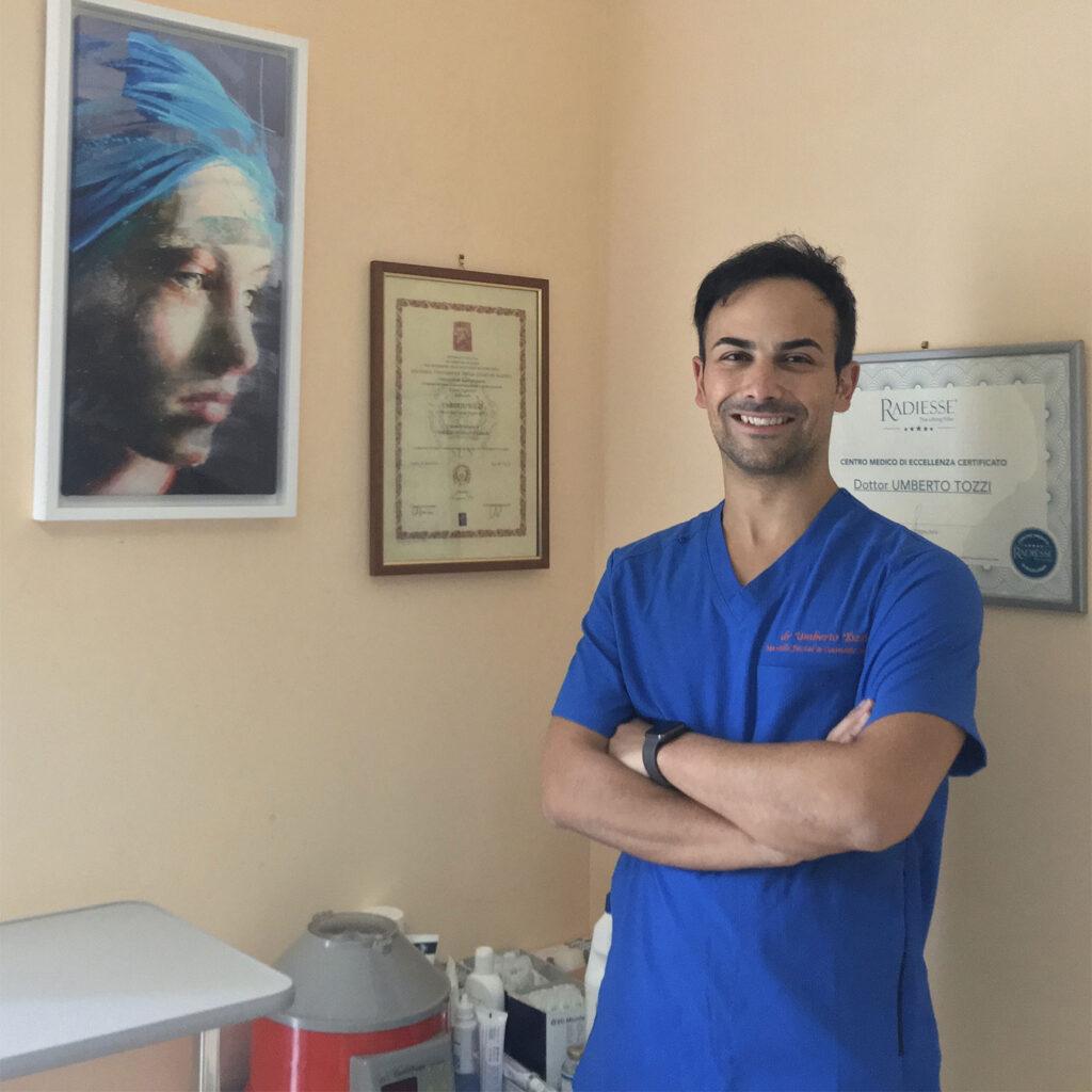 Dottor Umberto Tozzi, medicina estetica