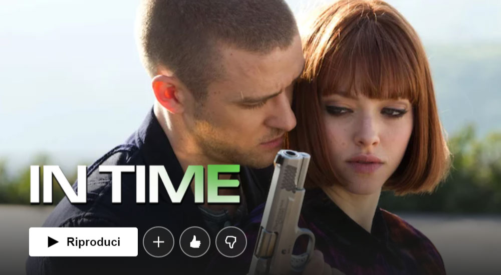 Film da vedere su Netflix: In time