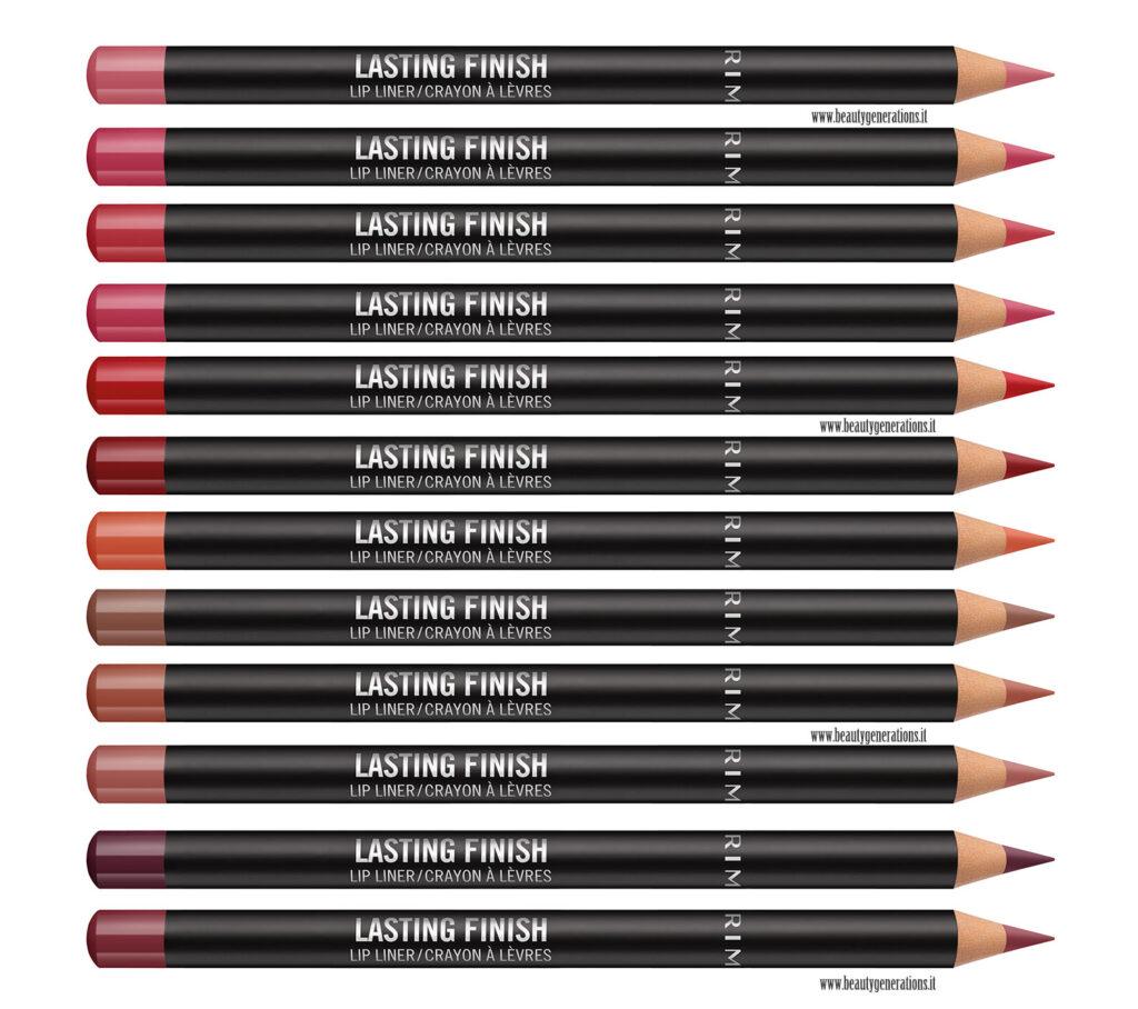 Rimmel Lip Liner lasting Finish