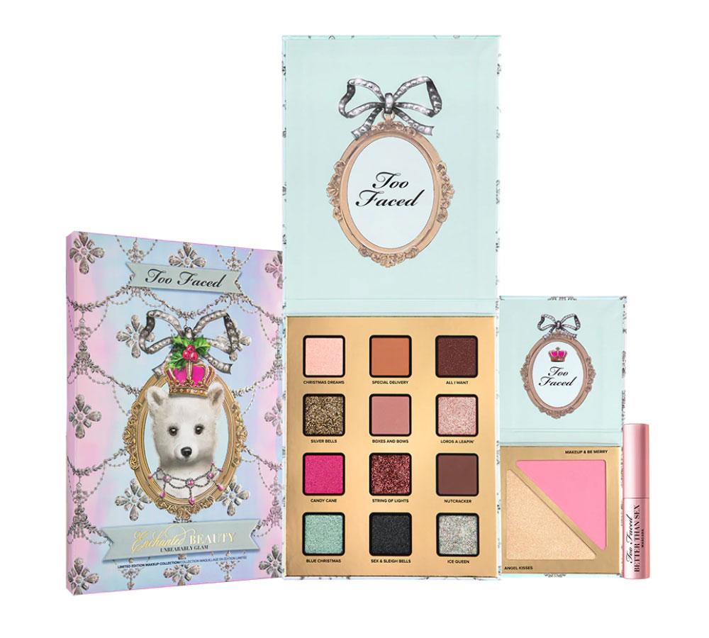 Too Faced Enchanted Beauty kit idea regalo Natale 2020