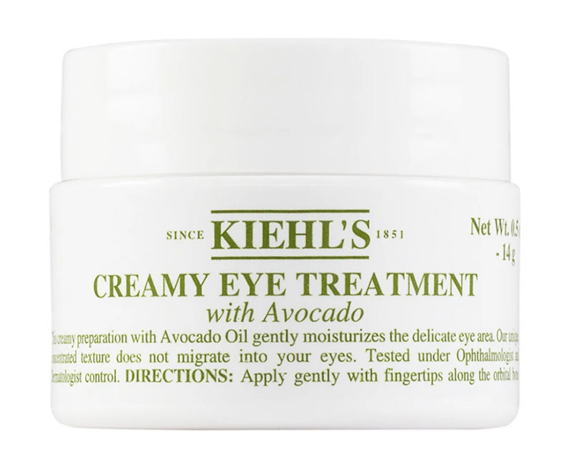 Kiehl's contorno occhi avocado recensione
