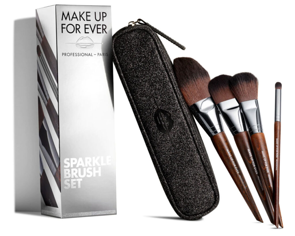Make Up For Ever Sparkle brush set Natale 2020 pennelli