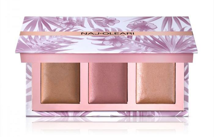 Skin Blossom Contour Palette Naj Oleari