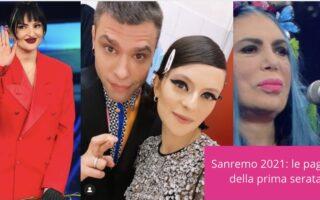 Sanremo 2021 look prima serata