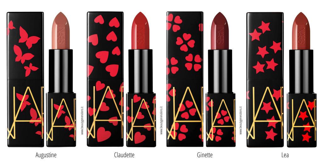 NARS Claudette Collection Audacious Lipstick
