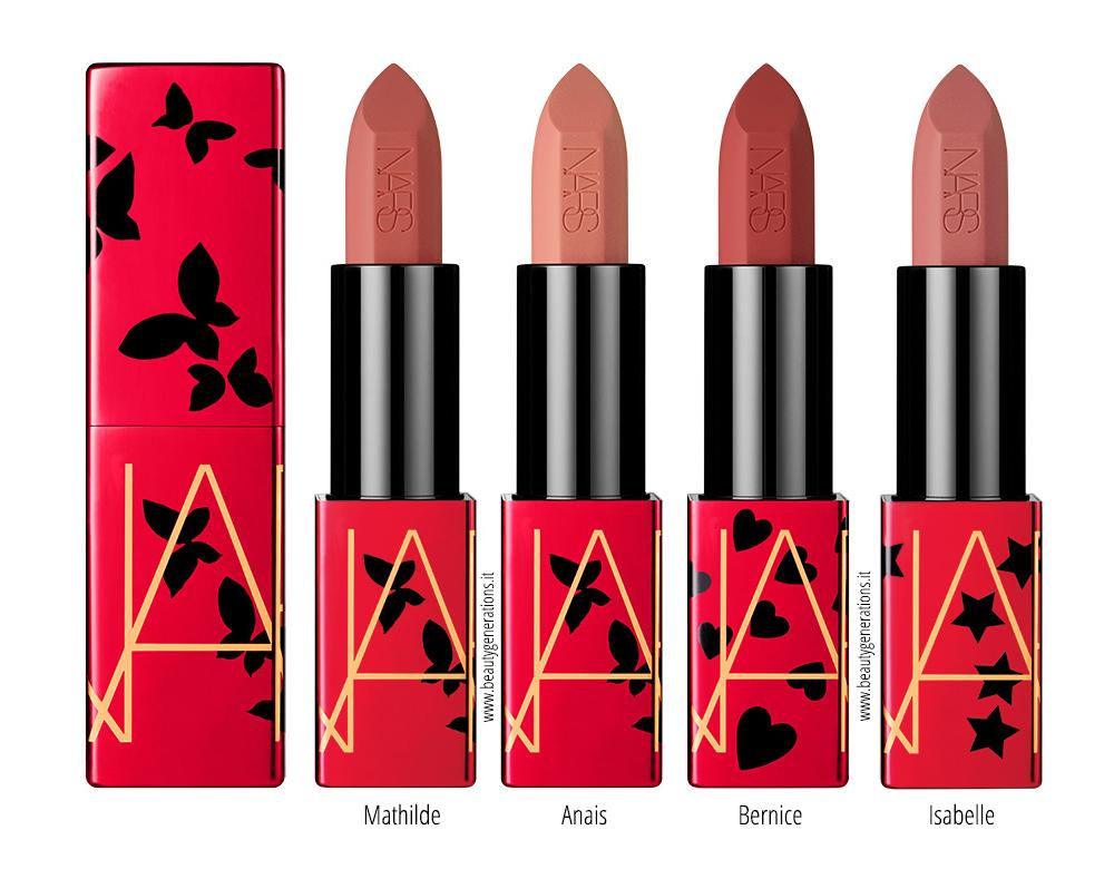 NARS Claudette Collection-Audaciou Sheer Matte Lipstick