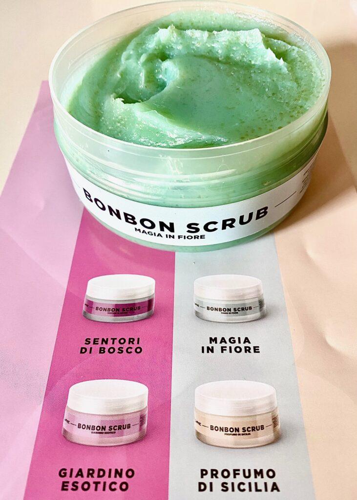 Bonbon scrub marshmallove cosmetics